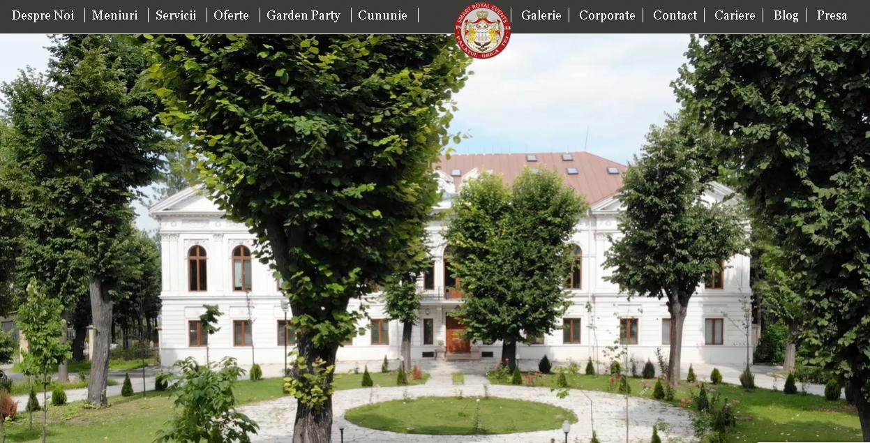www.palatulghicatei.ro